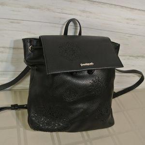 $120 MINTY DESIGUAL SINTRA ALEX Black Backpack Bag